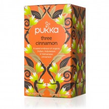 Three Cinnamon Pukka Tea