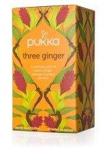 Three Ginger Pukka Tea