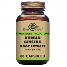 Korean Ginseng Root Extract Vegicaps (60)