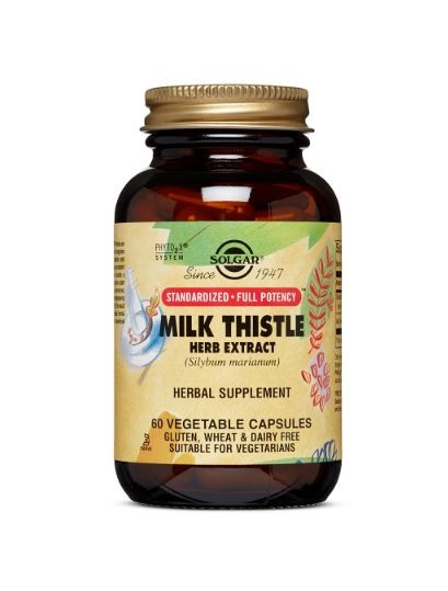 Milk Thistle Herb Extract Vegicaps (60)