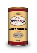 Whey to Go Protein Powder (Choc) 454g