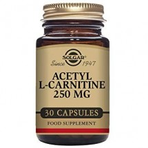 Acetyl-L-Carnitine 250 mg Vegetable Capsules - Pack of 30