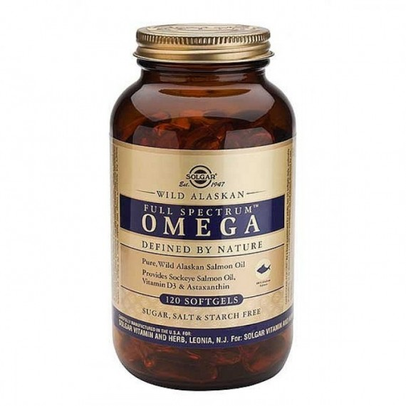 Wild Alaskan Full Spectrum Omega - 120 Softgels
