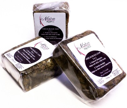 African Black Soap 100g