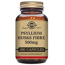 Psyllium Husks Fibre - 200 Vegetable Capsules