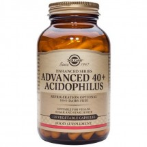 Advanced 40 + Acidophilus Vegicaps (120)