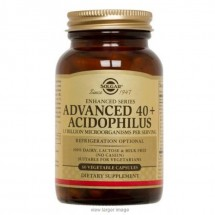 Advanced 40 + Acidophilus - 60 Vegetable Capsules