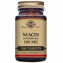 Niacin (Vitamin B3)  100mg - 100 Tablest