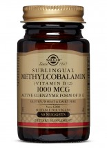 Methylcobalamin (Vitamin B12) 1000 mcg - 30 Nuggets