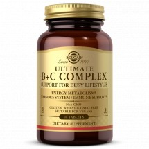 Ultimate B + C Complex  - 30 Tablets