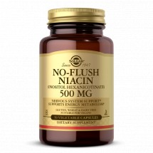 No-Flush Niacin 500mg - 50 vegetable Capsuels