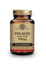 Folacin (Folic Acid) 400 µg Tablets-Pack of 250
