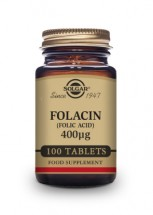 Folacin (Folic Acid) 400 µg Tablets - Pack of 100