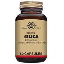 Oceanic Silica 25 mg Vegetable Capsules-Pack of 50
