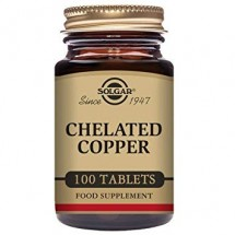 Chelated Copper Tablets - Pack of 100