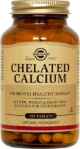Chelated Calcium Tabs (100)