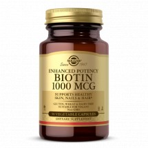 Biotin 1000 µg Vegetable Capsules - Pack of 50