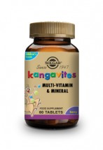 Kangavites  Complete Multivitamin & Mineral Formula for Children (Bouncing Berry) Chewable Tablets - Pack of 60