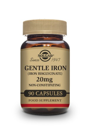 Gentle Iron 20mg Vegetable Capsules - Pack of 90