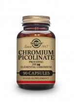 Chromium Picolinate 200 µg Vegetable Capsules - Pack of 90