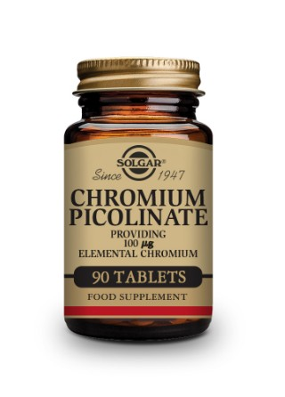 Chromium Picolinate 100 µg Tablets - Pack of 90