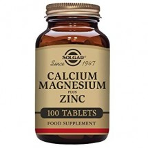 Calcium Magnesium Plus Zinc Tablets - Pack of 100