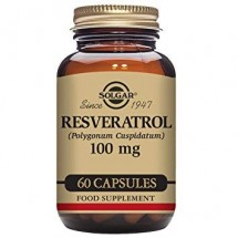 Resveratrol 100mg Vegetable Capsules-Pack of 60