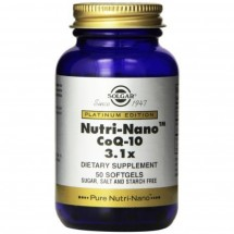 Nutri Nano Co-Q10 3.1x Softgels (50)