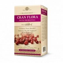 Cran Flora Cranberry Vegetable Capsules - Pack of 60