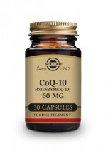 CoQ-10 60 mg Vegetable Capsules - Pack of 30