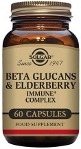 Beta Glucans and  Elderberry Immune Complex(60)