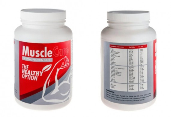 Musclecare 1.2kg powder