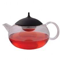 The Tea Merchant 850ml Glass Teapot With Duck Egg Infuser