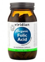 Organic Folic Acid 90 Veg Caps