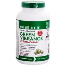 Green Vibrance +25 Billion Probiotics  240 Vegicaps