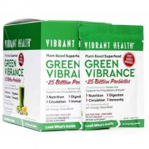 Green Vibrance  +25 Billion Probiotics, Single Sachet