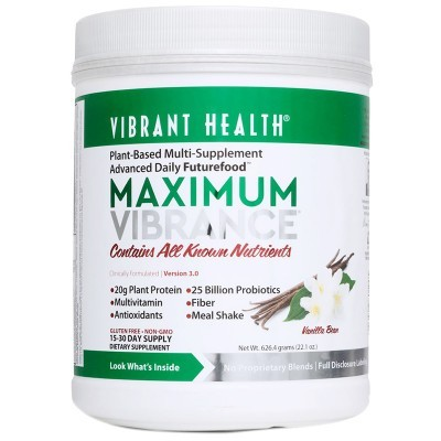 Maximum Green Vibrance Powder - Vanilla 538g
