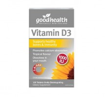 Good Health Vitamin D3 120's