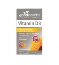 Good Health Vitamin D3 60's