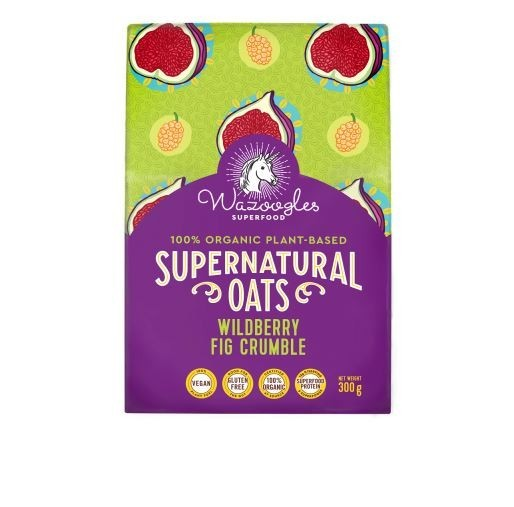 Supernatural Oats - Wild Berry Fig Crumble - 300g