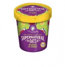 Supernatural Oats Pot- Wild Berry Fig Crumble 90g