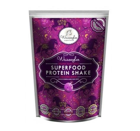 Wazoogles Unicorn Berry Superfood Protein Shake 33g