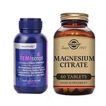 Cramp Combo (Medford Femiscript and Solgar magnesium citrate)
