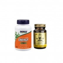 Energy Combo(Now Foods Energy Boost & Solgar  Formula VM 2000)