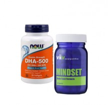 Concentration Combo (Sevenpointfive vii.v mindset and Now DHA 500)
