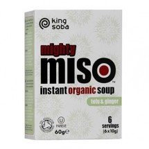 Miso soup - tofu & ginger 60G