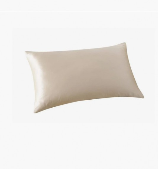 Satin Pillow Case Cream (Single)
