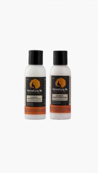 Double Combo - Travel Size - (Peppermint Cowash & Conditioner)
