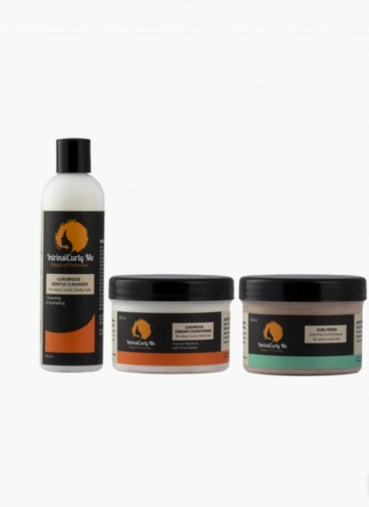 Triple Combo - Large (Gentle Cleanser, Creamy Conditioner, Curl Creme)