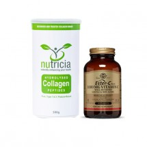 Joint Health Combo(Nutricia Collagen Peptides & Solgar Ester-C Plus Vegicaps 1000mg (90)